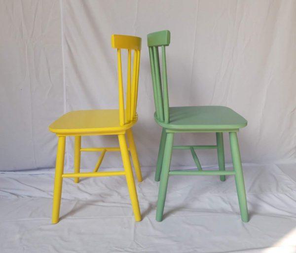 Ghế Pinnstol sơn màu theo yêu cầu