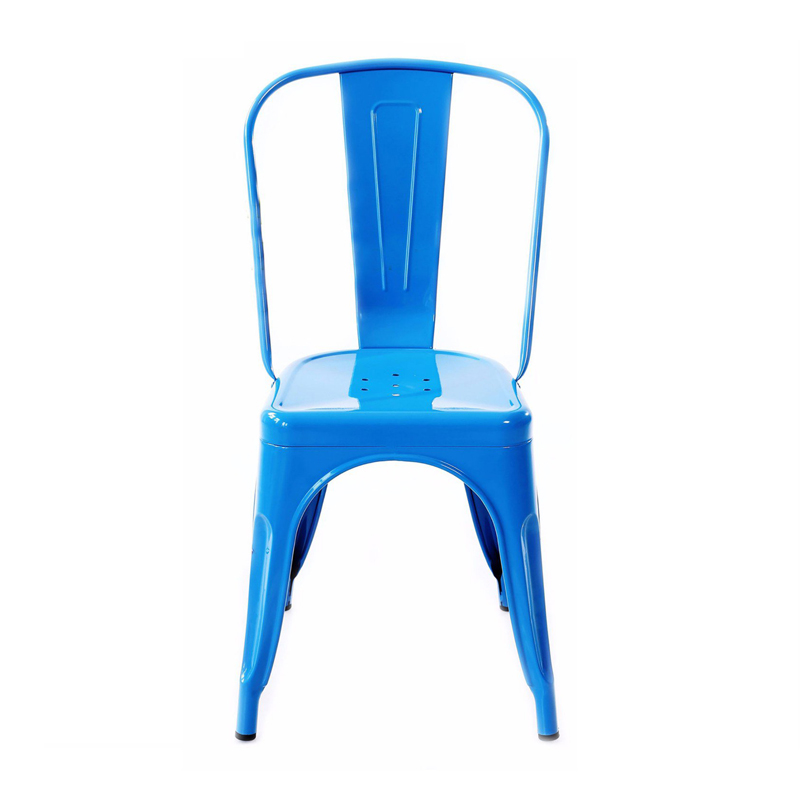 Ghế tolix T1 màu xanh