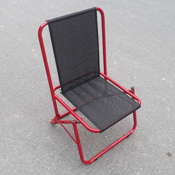 Khung ghế gấp vải dù được làm từ thép sơn tĩnh điện