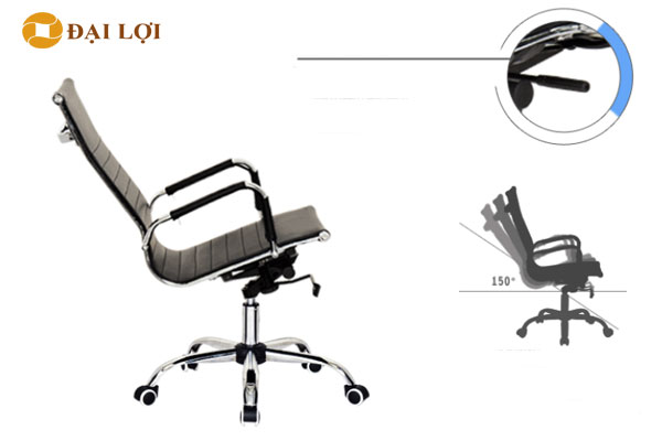Tính năng ghế ngả nghiêng 1 góc 150 độ tạo cảm giác nghỉ ngơi thoải mái