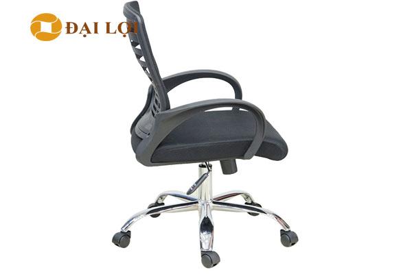 Ảnh chụp mặt ngang của ghế AGL102 , thiết kế mềm mại độ bền cao