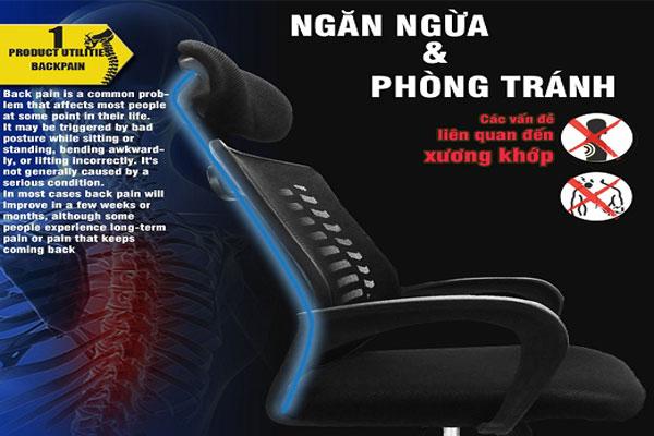 Thiết kế ghế lưới GL117