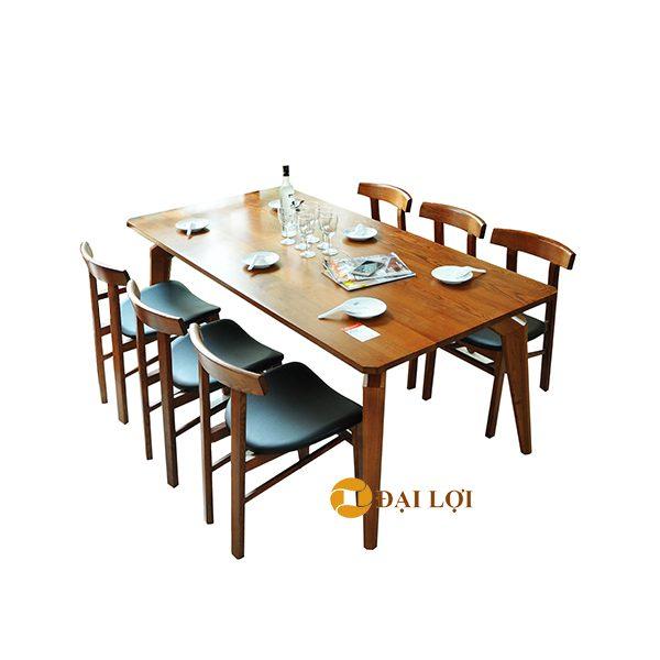 Bàn ăn gia đình 6 ghế Dragon 107