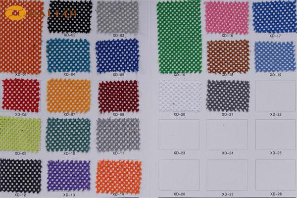 màu sắc vải lưới của ghế GL309
