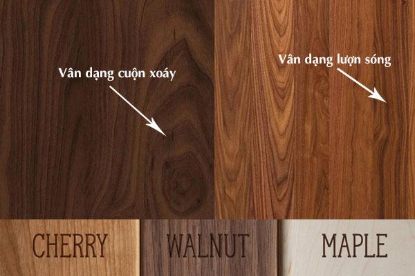 Vân gỗ óc chó Walnut