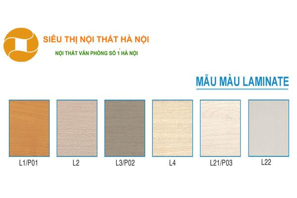 Màu sắc mặt bàn đa dạng quý khách hàng có thể nựa chọn bảng màu dưới đây