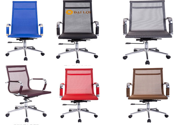 Ghế xoay lưới AGL316C với nhiều màu sắc để khách hàng lựa chọn