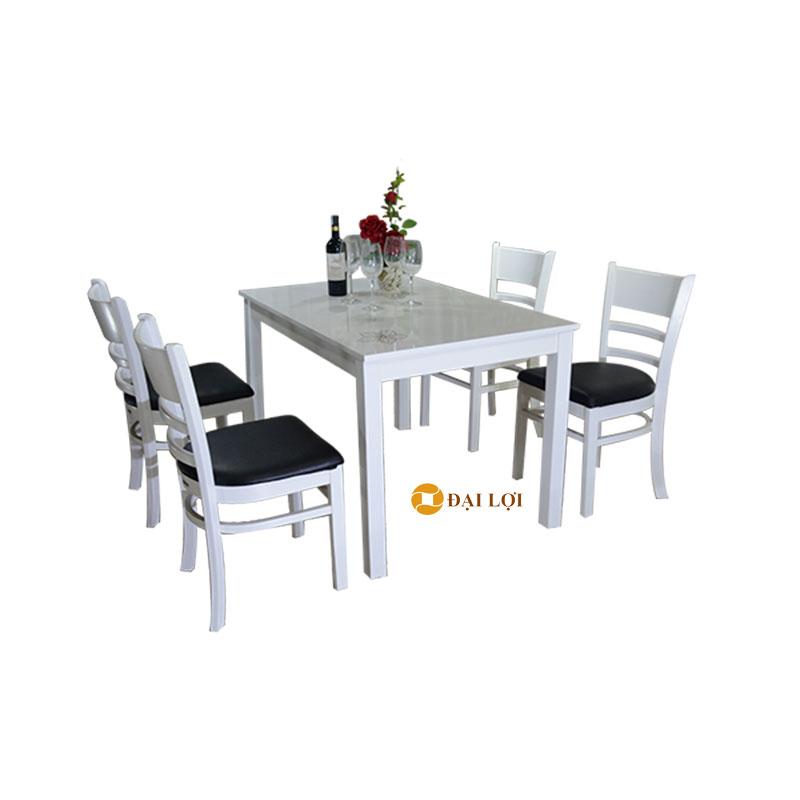 Bộ bàn ghế ăn hiện đại Mostar