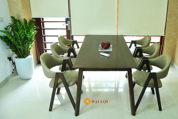 Bộ bàn ăn 6 người