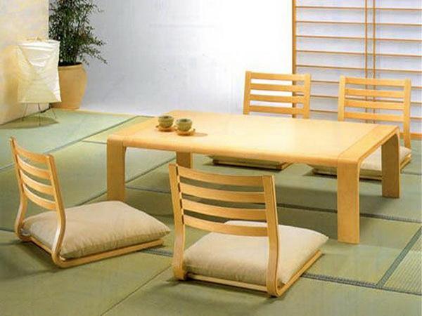 Bàn ghế ăn cho nhà hàng kiểu Nhật
