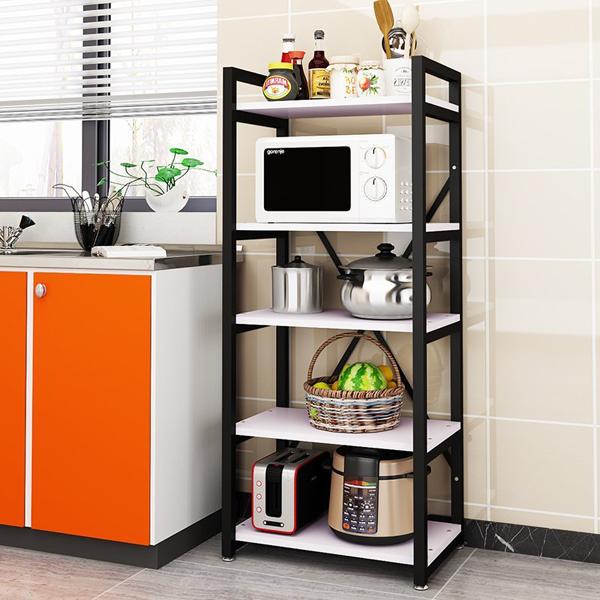 Kệ sắt kê đồ bếp kích thước 1m7 dành cho gia đình và chung cư