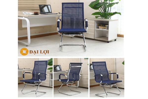 ghế chân quỳ phòng họp làm việc GL410 có nhiều màu xanh