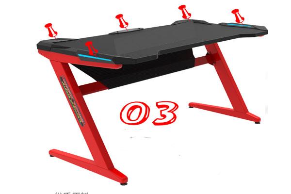 Hình ảnh chi tiết sản phẩm bàn làm việc ghế gaming