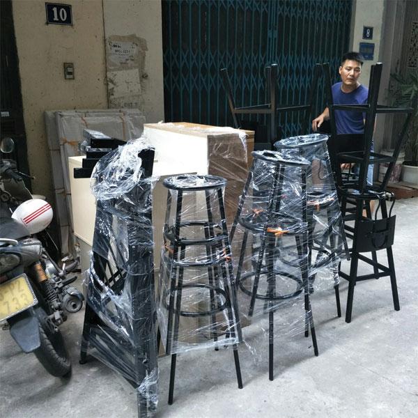 Sản xuất ghế bar theo yêu cầu