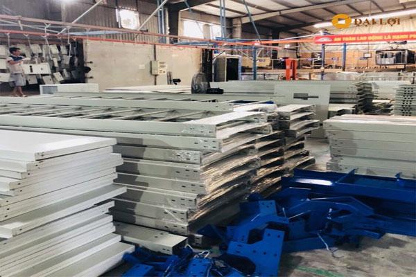 Xưởng sản xuất các loại tủ chống cháy nổ của Đại Lợi