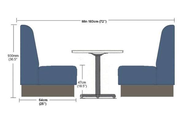 Kích thước là yếu tố đầu tiên để bạn quyết định thiết kế quán cafe phù hợp