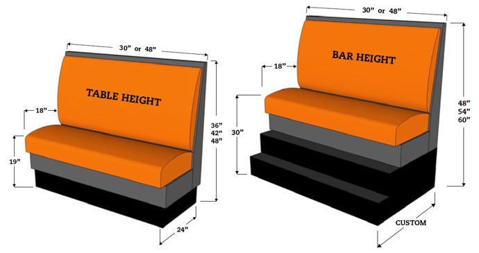 Thiết kế ghế sofa cafe