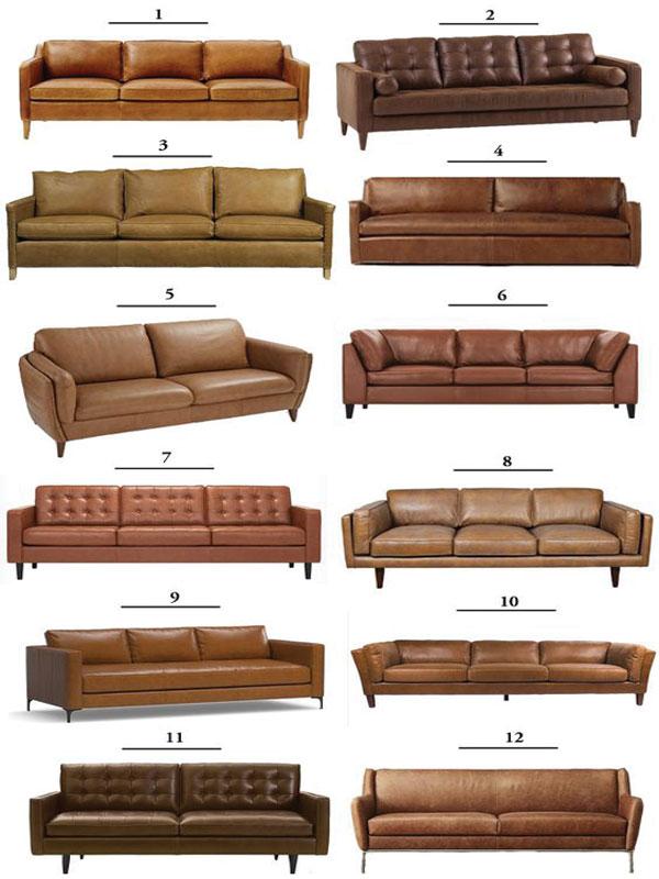 12 mẫu ghế sofa da phổ biến bán chạy hiện nay