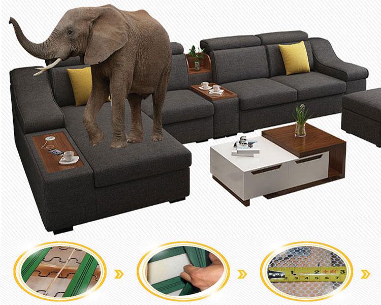 Sofa có khả năng chịu lực tốt, thiết kế lưới lò xo chịu lực tốt