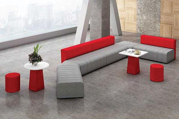 Sofa phòng khách màu đỏ thiết kế phòng nghỉ, phòng nói chuyện hay phòng tiếp khách