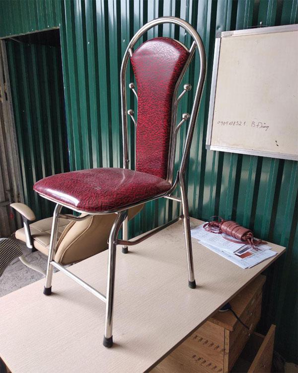 Thanh lý 500 ghế gấp inox mới 100% giá rẻ tại Hà Nội