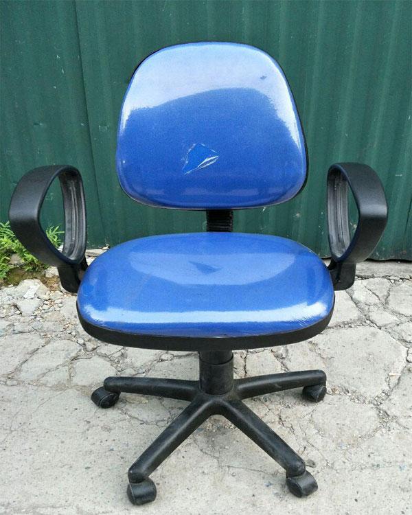 ghế xoay SG550 màu xanh