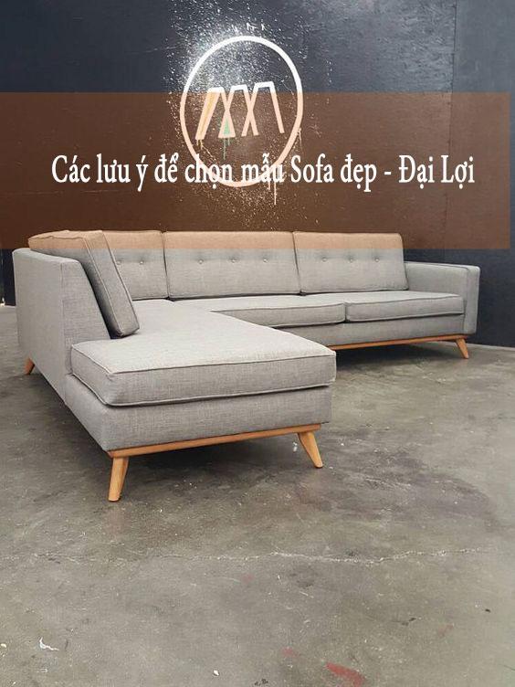 Cách chọn sofa cũ Hà Nội vẫn đảm bảo chất lượng