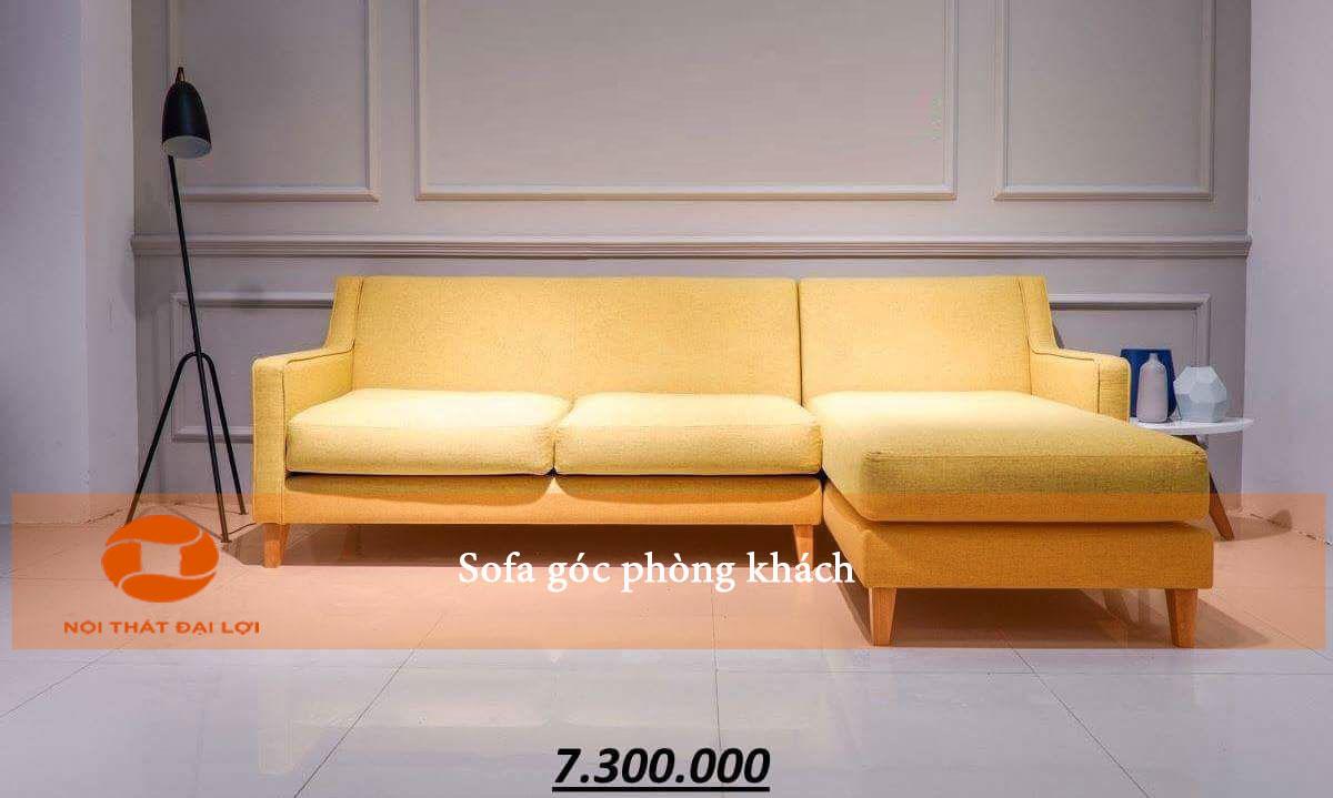 Mẫu 5 - Sofa góc phòng khách