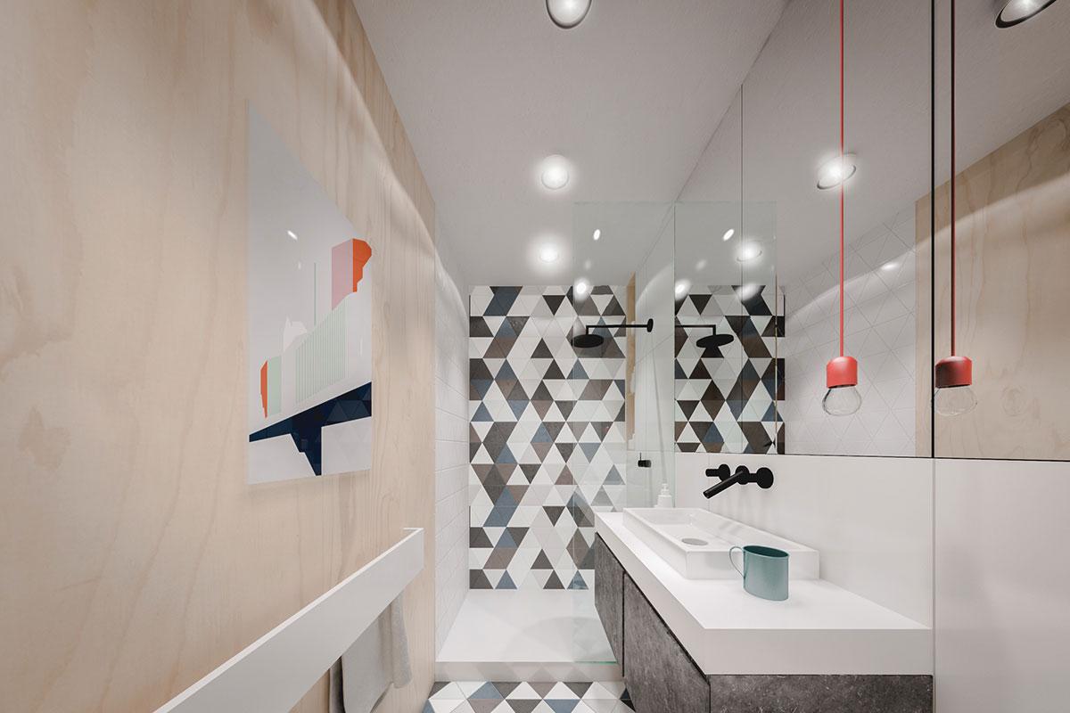 Phòng vệ sinh của căn hộ