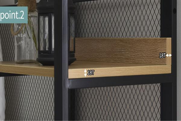 Kệ gỗ có độ dày 180 mm