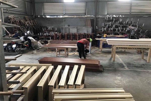 Khu vực sản xuất các mặt hàng nội thất Đại Lợi