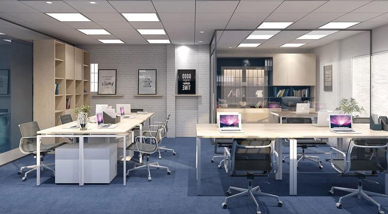 mẫu thiết kế văn phòng cho công ty nhỏ dưới 20 người