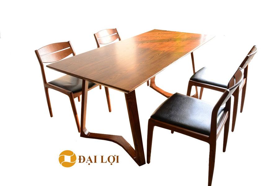 Bàn ghế ăn đẹp hiện đại DRAGON 106
