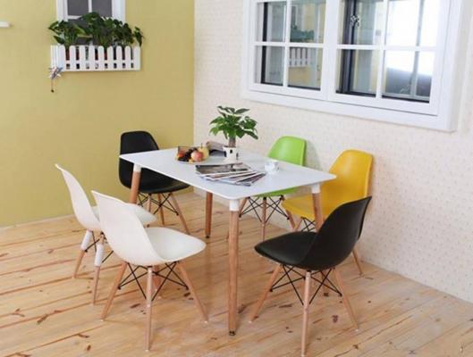 Bàn ăn 6 ghế hiện đại Eames