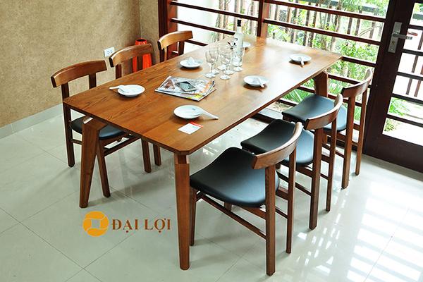 Bàn ăn 6 ghế hiện đại DRAGON-107