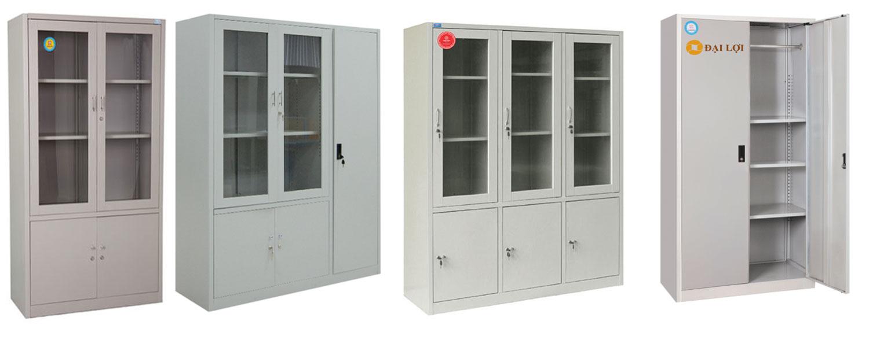 Các kiểu dáng phổ biến tủ tài liệu sắt xuân hòa bán chạy nhất. Bao gồm tủ 2 cánh, tủ 3 buồng dạng kính hoặc sắt, tủ sắt 2 cánh kính