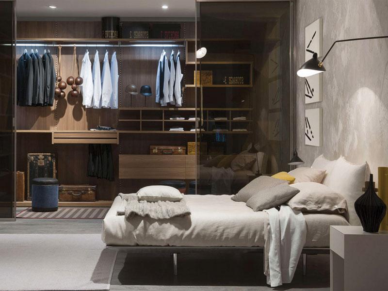 Nếu phòng ngủ của bạn rộng hãy sử dụng thiết kế tủ này, đây là phong cách thiết kế Bắc âu hiện đại