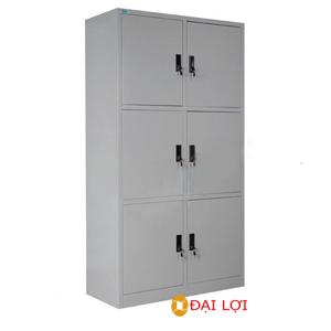 Tủ tài liệu sắt 6 khoang TU09k6