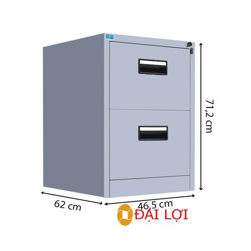Tủ tài liệu sắt 2 cánh TU09K3